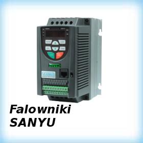 Instrukcje programowania falowników Sanyu