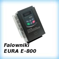 Instrukcje programowania falowników EURA serii E-800