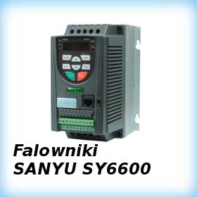 Instrukcje programowania falowników SANYU serii SY6600